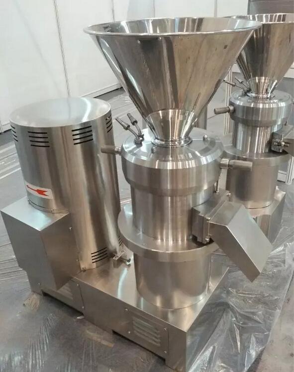 上海丰企实业生产的jm型胶体磨主要结构是由磨头部件,底座转动部件,电